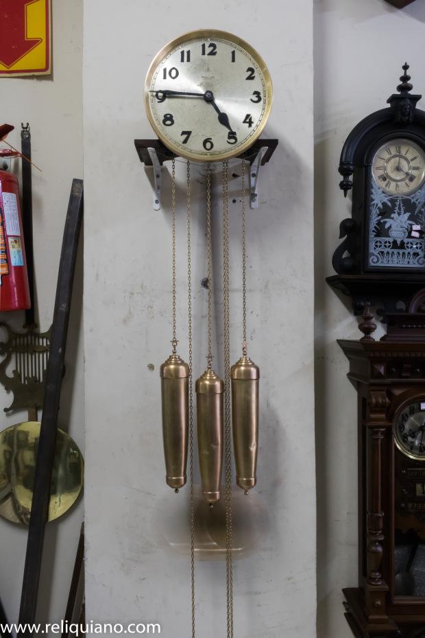 Relógios Antigos restauração carrilhão 3 pesos