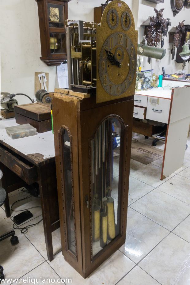 Relógios Antigos restauração Carrilhão pesos