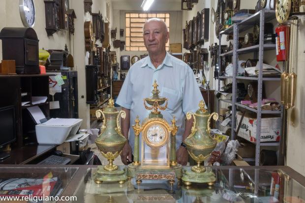 Relogios Antigos restauração relógio francês